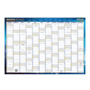Writeraze 2022 QC2 Laminated Card Planner 500 x 700mm Yearly