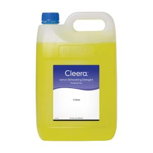 Cleera Lemon Dishwashing Detergent 5L