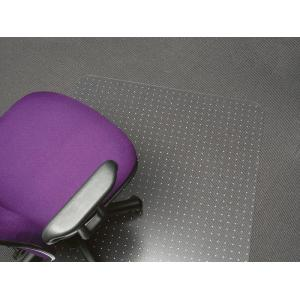 Marbig Chairmat 100% Recyclable Polycarbonate All Pile Carpet 1500l x 1200wmm Matt