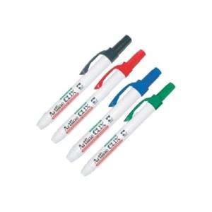 Artline 593 Clix Whiteboard Marker Retractable Chisel Tip 4.0mm Assorted Colours Set 4