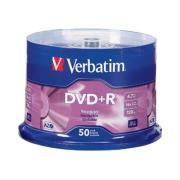 Verbatim DVD+R 4.7 GB / 16x / 120 Min - 50-Pack Spindle