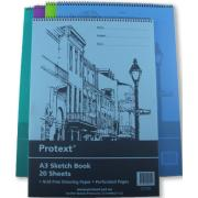 Protext Polypropylene A3 20 Leaf Sketch Book