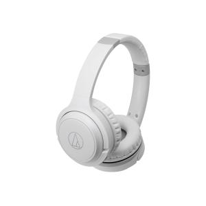 Audio Technica On Ear Bluetooth Headphones W/40mm White