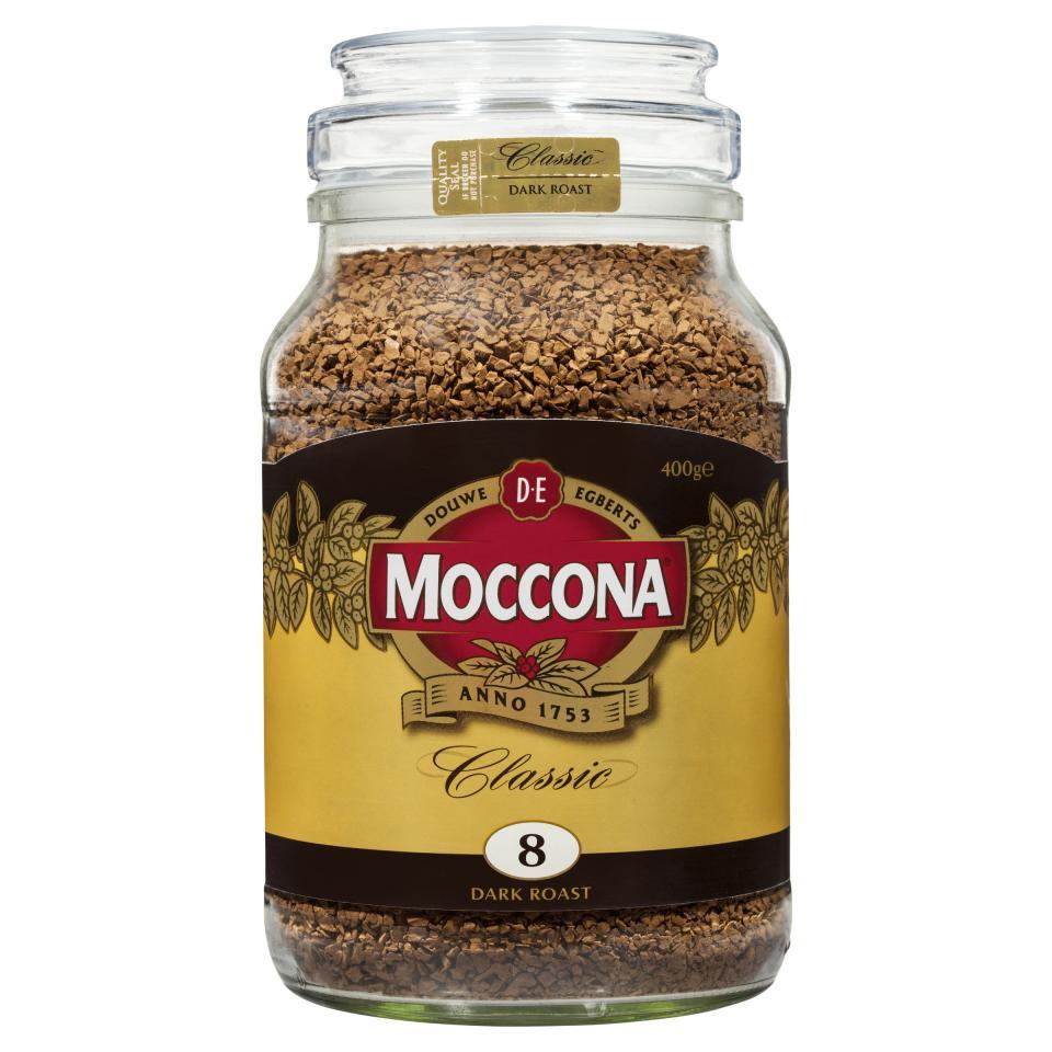 Moccona Classic Dark Roast Freeze Dried Instant Coffee 400g Jar