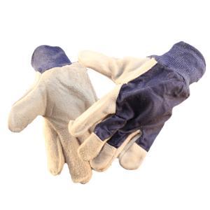 Glove Cotton Drill Blue Cuff Mens Pair