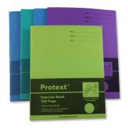 Protext Exercise Book Polypropylene 225 x 175mm 8mm Ruled 128 Pages