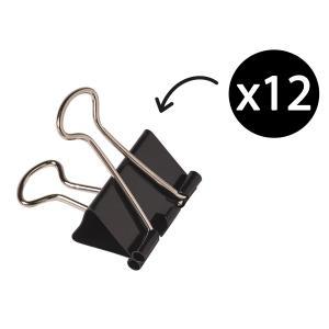 Winc 25mm Foldback Clips Box 12