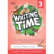 Writing Time 3 (Victorian Modern Cursive) Student Practice Book