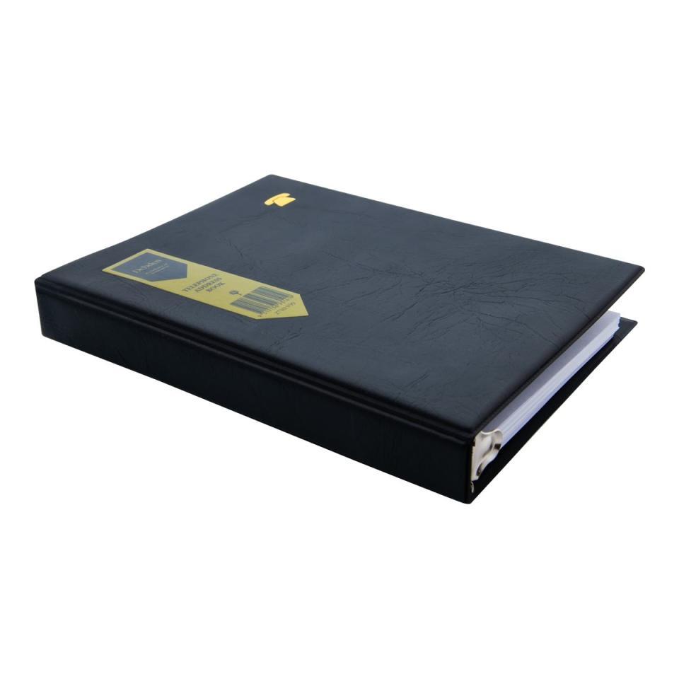 Debden Telephone/Address Book 3 Ring 214X140mm Black