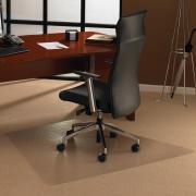 Floortex Chairmat Workstation Carpet Trapezoidal 1200l x 1500w Matt
