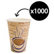 Paper Cup Hot/Cold 237ml/8Oz Carton 1000