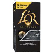 L'OR Espresso Coffee Capsules Onyx Box 10