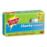 3M Scotch-Brite Chunky Sponges Pack 2
