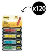 Post-It Flags 11.9 x 43.2mm 'Sign Here' Assorted Pack 4