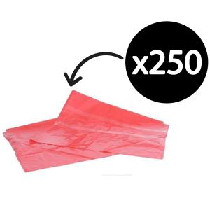 Soluble Seam Bag Liners 990X710mm Red Carton 250