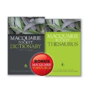 Macquarie Pocket Dict 4E & Thesauraus