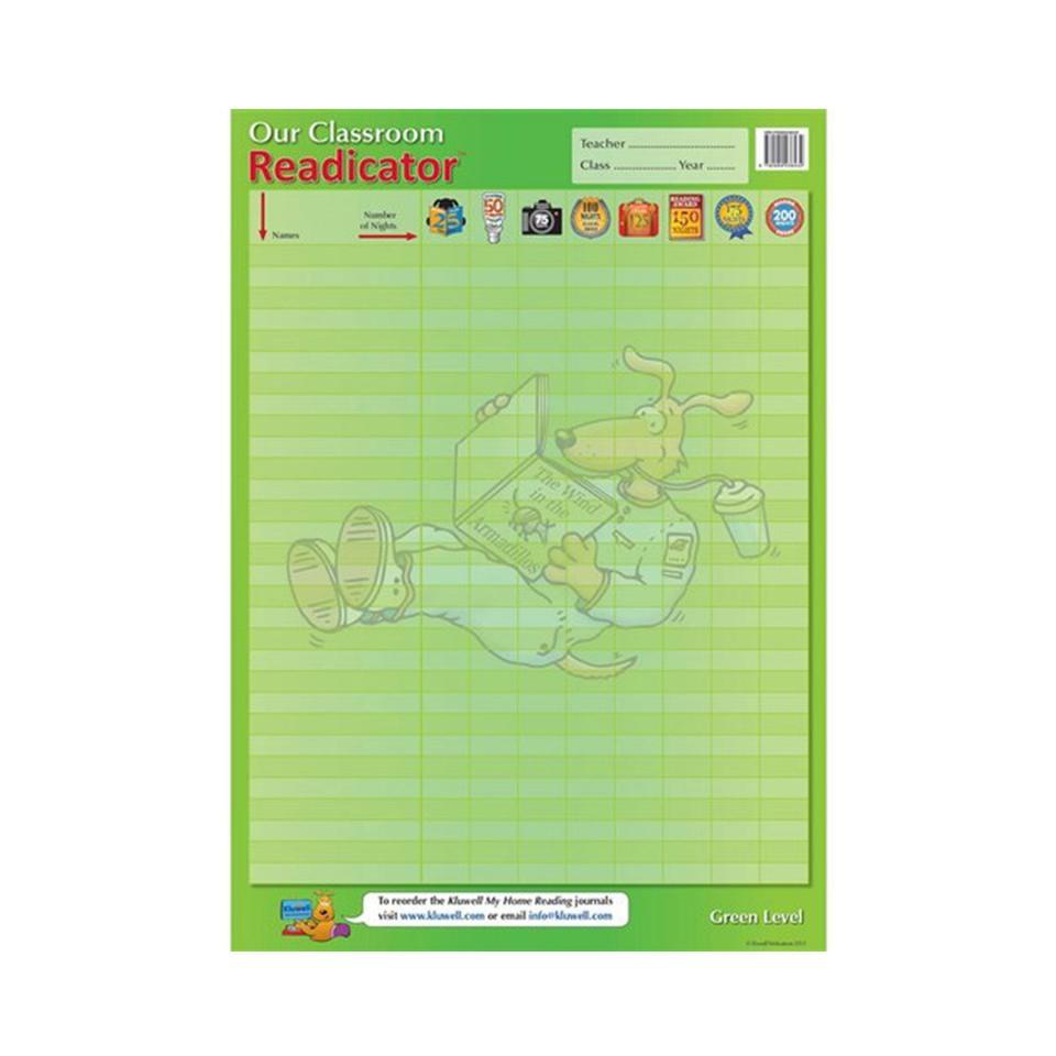 Classroom Readicator - Green Level Kluwell Publications
