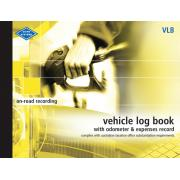 Zions Vlb Vehicle Log Book 72 Pages 190X250mm