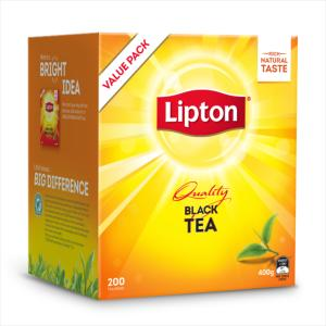 Lipton Black Tea Bags Pack 200