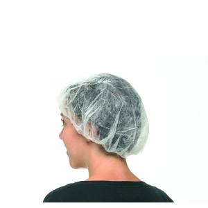 Safechoice Disposable Round Hairnet Blue Carton 1000