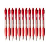 Winc Retractable Ballpoint Pen Medium 1.0mm Red Box 12