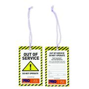 Out Of Service Safety Tags Pack 100