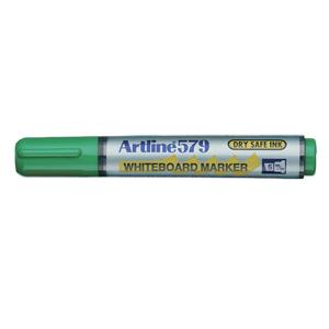 Artline 579 Whiteboard Marker Chisel Tip 2.0-5.0mm Green