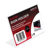 Deflect-O 46301 Business/Place Card Holder Landscape
