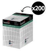 Bastion Progenics Disposable Gloves Vinyl Powder Free Blue Cube Box 200