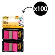 Post-It Flags 25.4 x 43.2mm Bright Pink Pack 2