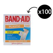 Band Aid J3510 Adhesive Bandages Pack 100