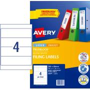 Avery Filing Labels - 200 x 60mm - 100 Labels (L7171)