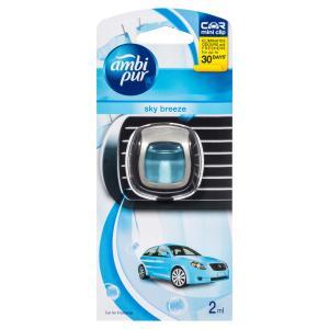 Ambi Pur Car Vent Clip 2ml Sky Breeze