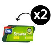 Clorox Chux Heavy Duty Sponge Scourers 3 Pkt
