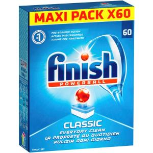 Finish Classic Tablet Dishwasher Pkt 60