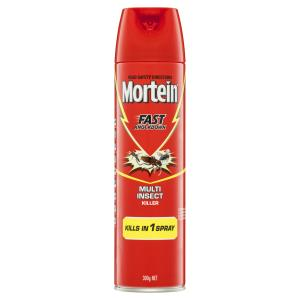 Mortein Fly Spray Fast Knockdown 300g