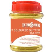 Teter Mek Bright Coloured Glitter 250g Gold