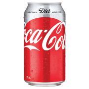 Diet Coca Cola 375ml Can Carton 24