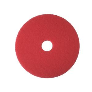 3M 5100 Buffing/Cleaning Pads Red 33cm Each