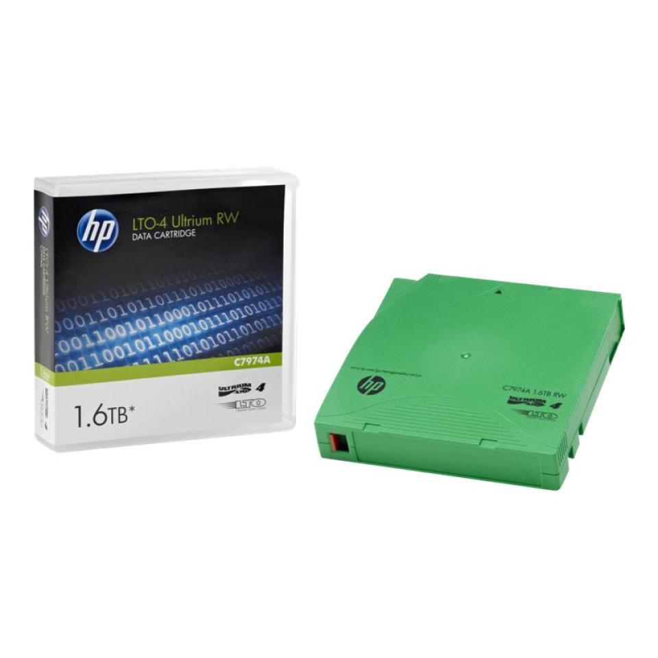 HP LTO-4 Ultrium 1.6 TB RW Data Cartridge - C7974A