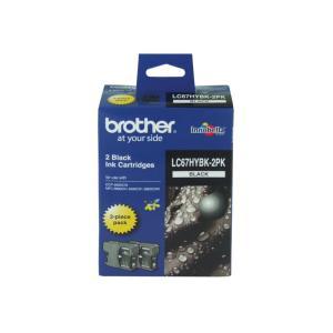 Brother LC67HYBK-2PK Black Ink Cartridge - 2-Pack