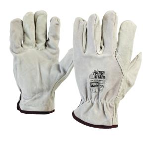 Pro Choice 803C Riggamate Cowsplit Leather Rigger Gloves  Pair