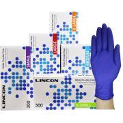 Lincon Nitrile Exam Gloves Powderfree Small 300 Box