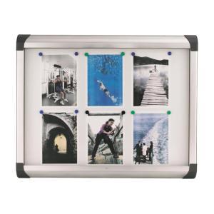 Nobo External Pacific Glazed Display Case 6 X A4 sheets 1 Door 815 x 670 mm