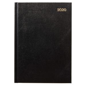 Winc 2020 Appointment Diary A5 2 Days to Page Black