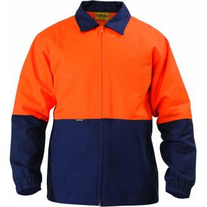Bisley BK6710-TT01 Mens High Visibility Two Tone Drill Jacket