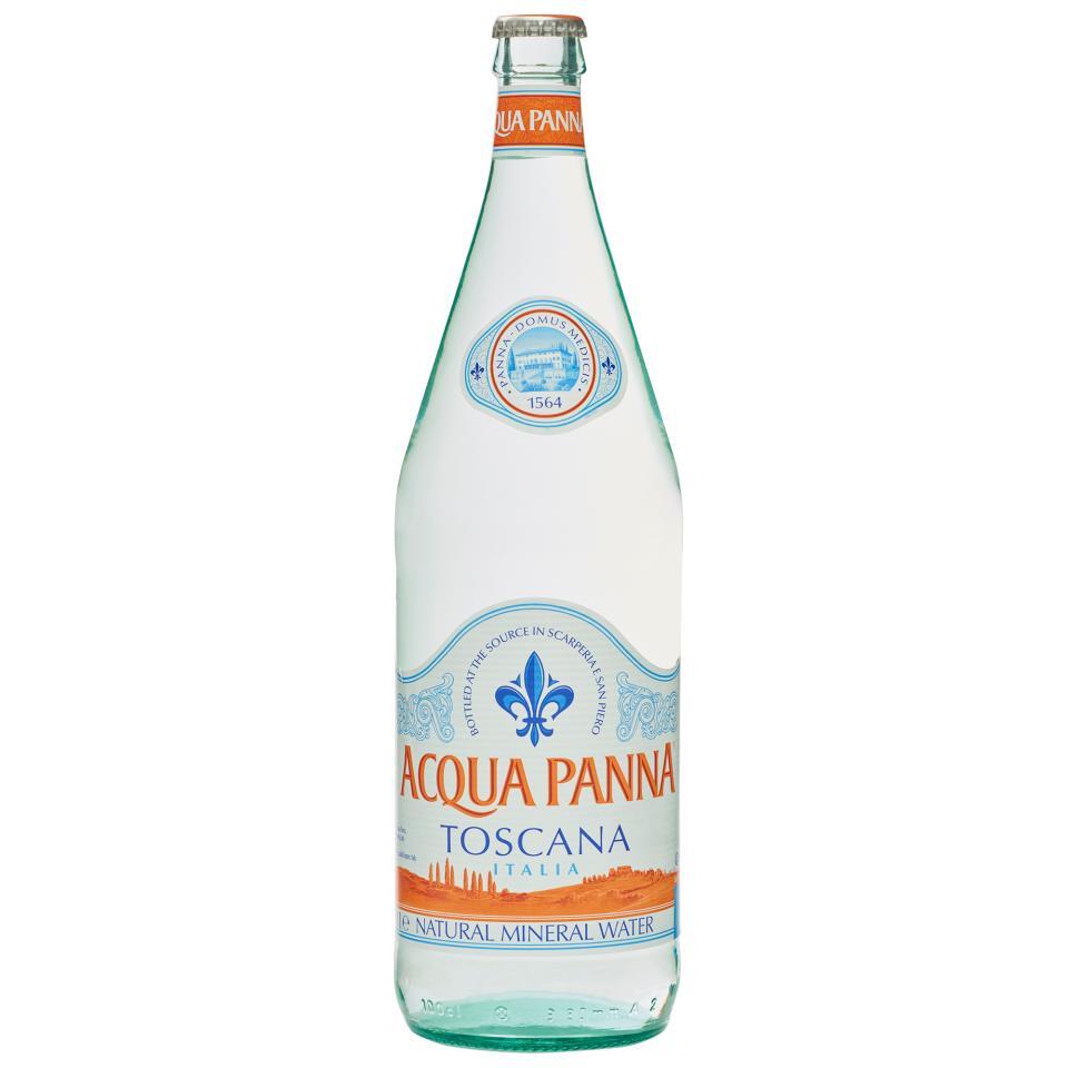 Acqua Panna Still Mineral Water Glass Bottle 1 Litre Carton 12