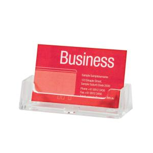 Esselte Business Card Holder Counter