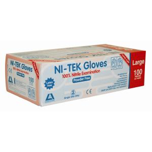 Livingstone 772 Nitrile Long Arm Chemical Gloves Large Box 100
