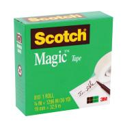 Scotch Magic 810 Tape 19mm x 32.9m Clear Roll